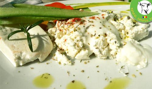 apertivi brânză de capră şi bivoliţă cu rozmarin