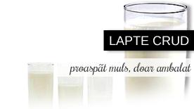 lapte de capră crud, integral sau degresat